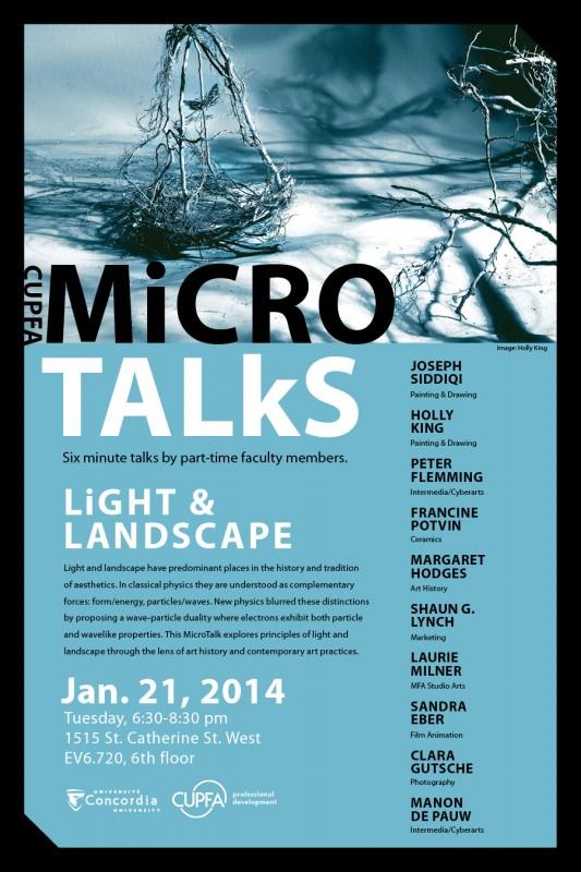 microtalks January 21